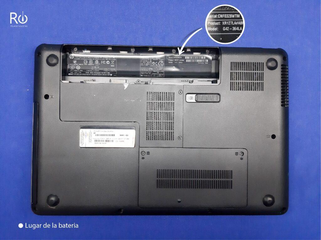modelo de mi laptop